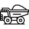 nakladne auto na prevoz hliny